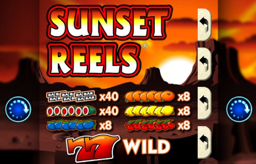 Hrací Automat Sunset Reels