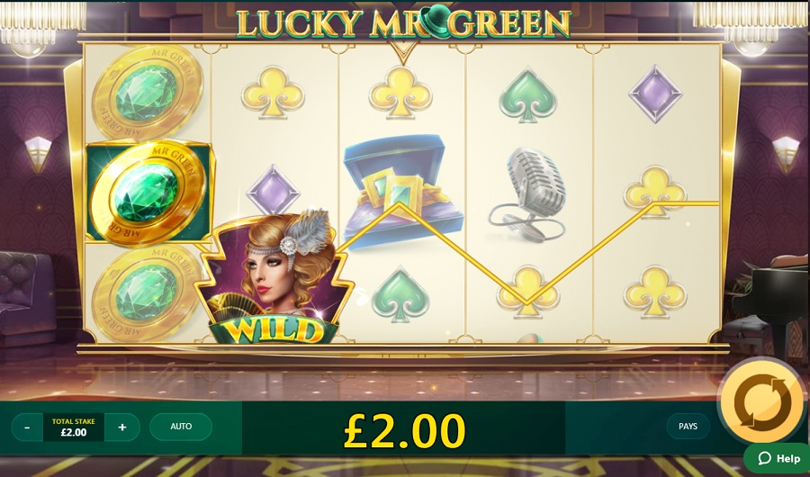 Lucky Mr Green
