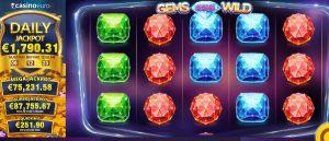 Hrací Automat Gems Gone Wild