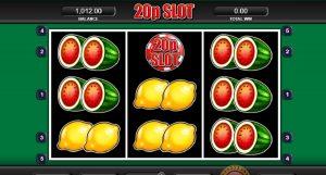 Výherní Automat 20p Slot