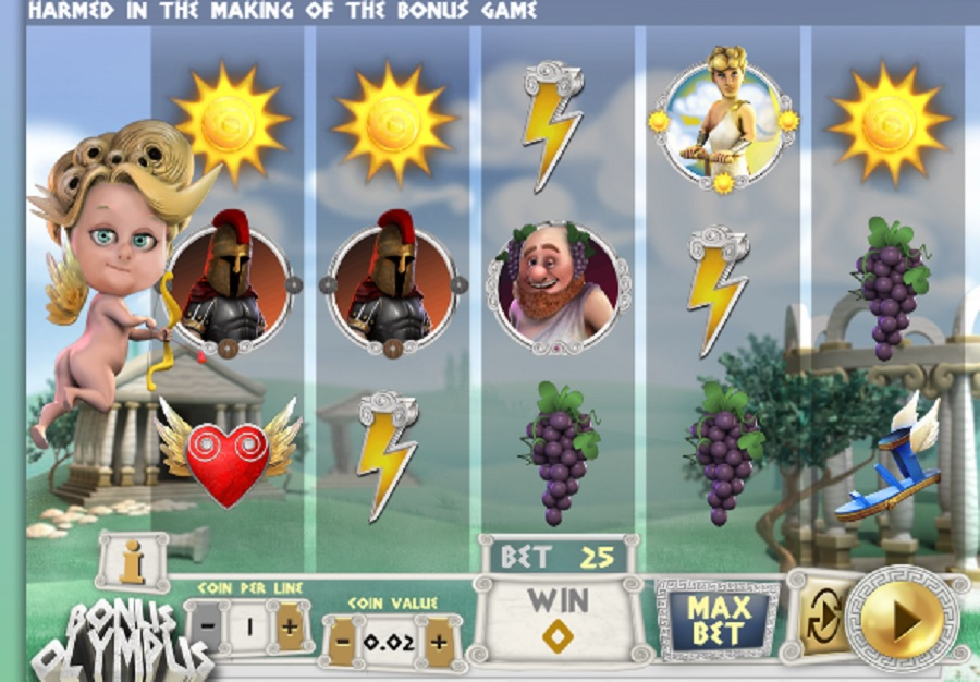 Hrací Automat Bonus Olympus