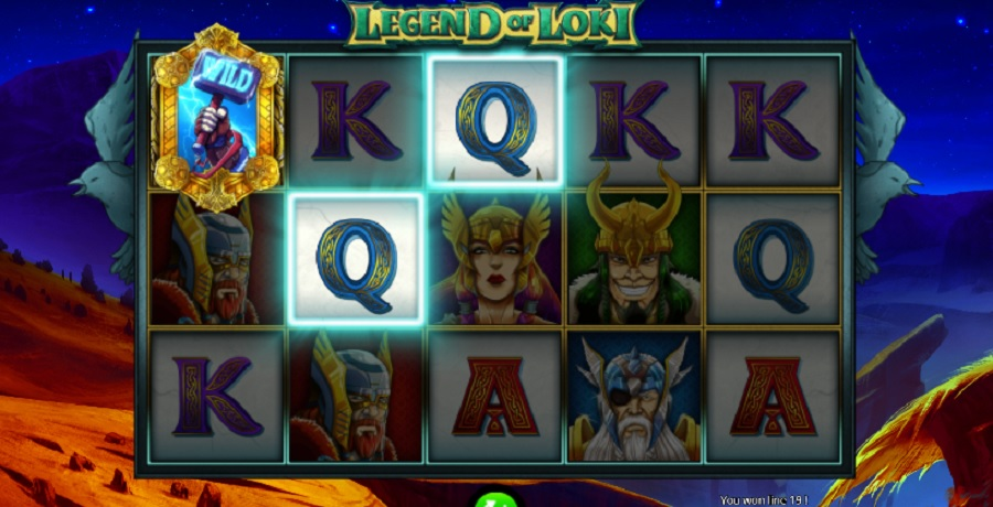 Video Automat Legend of Loki