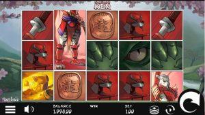 Hrací Automat Samurai Ken