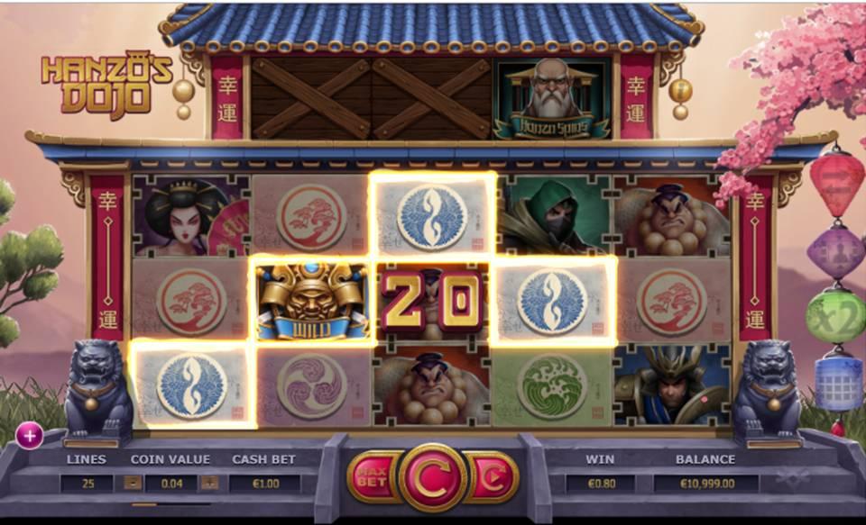Hanzo's Dojo Slot
