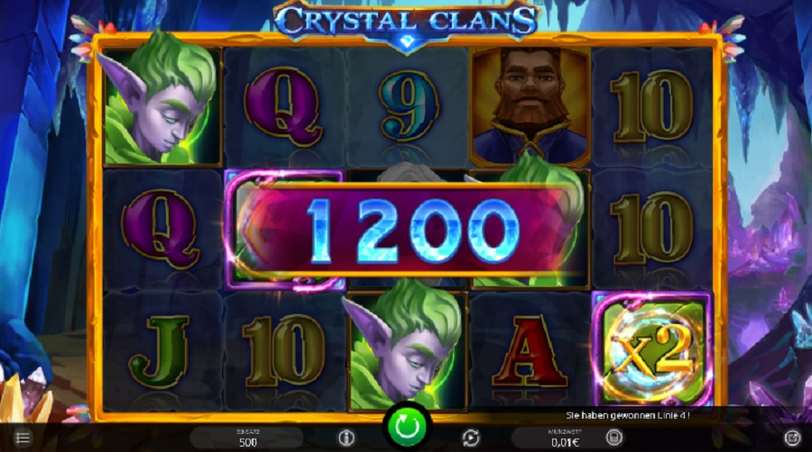 Video Automat Crystal Clans