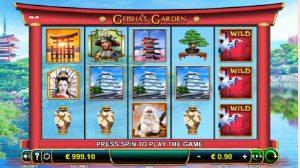 Hrací Automat Geishas Garden