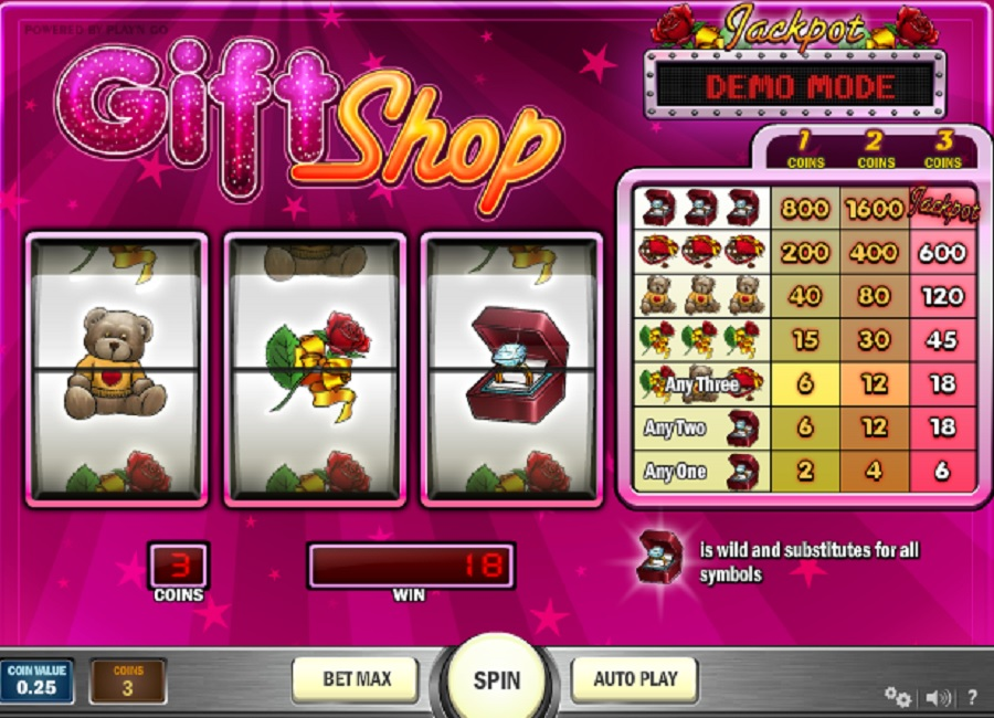 Hrací Automat Gift Shop