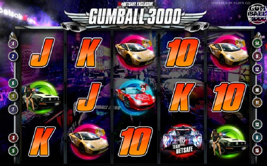 Výherný Automat Gumball 3000