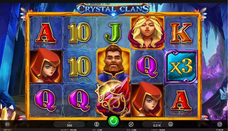 Výherní Automat Crystal Clans