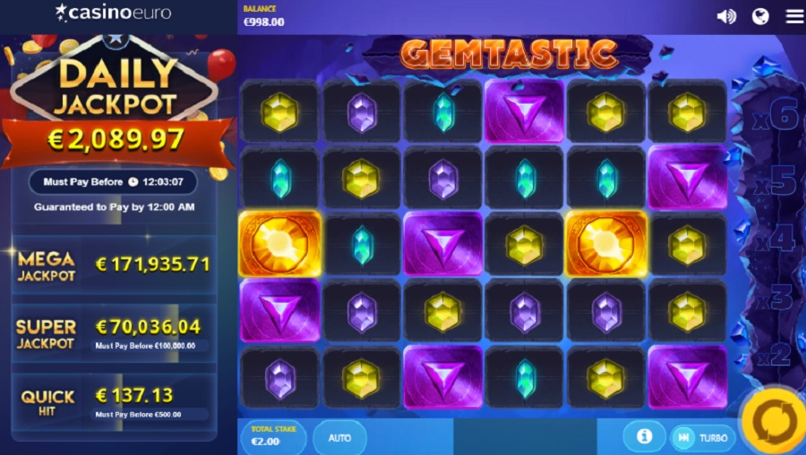 Hrací Automat Gemtastic