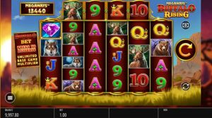 Buffalo Rising Megaways slot gives you up to 117 649 ways to win