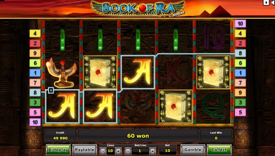 Hrací automat Book of Ra je stále na vrchole