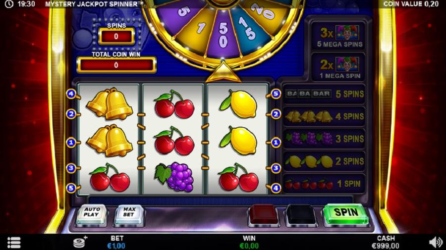 Mystery Jackpot Spinner