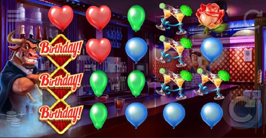 Výherný Automat Birthday!