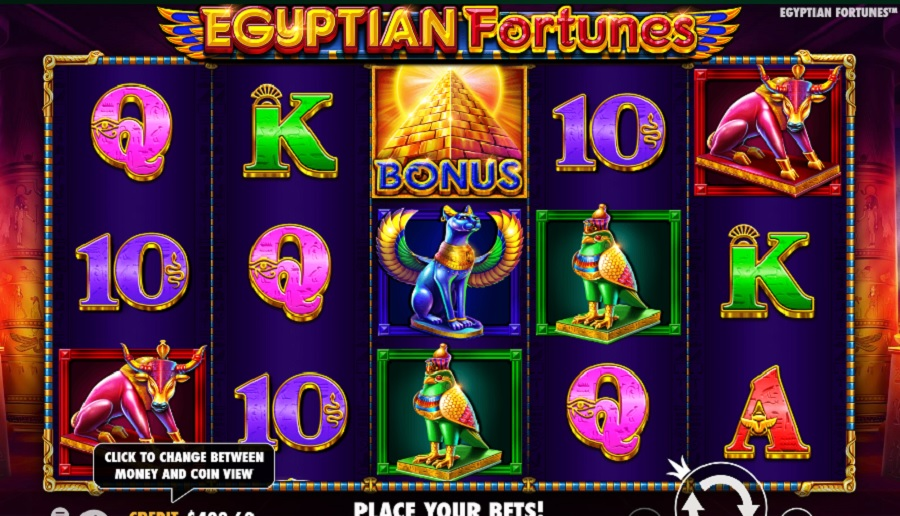 Výherní Automat Egyptian Fortunes
