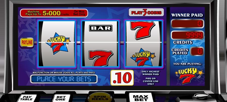 Video Automat Lucky 7