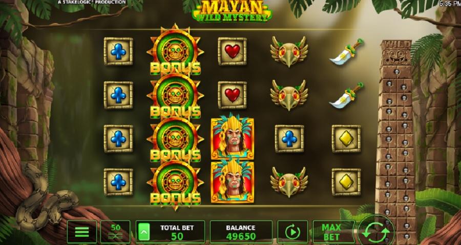 Výherný Automat Mayan Wild Mystery