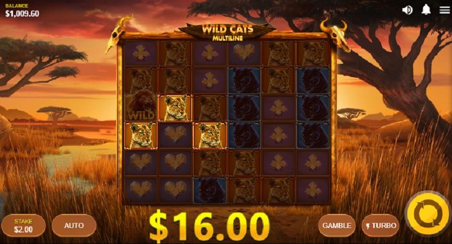 Výherný Automat Wild Cats Multiline