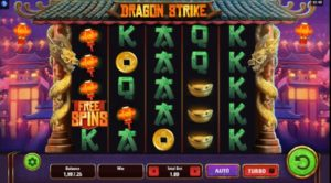 Video Automat Dragon Strike