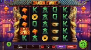 Výherný Automat Dragon Strike
