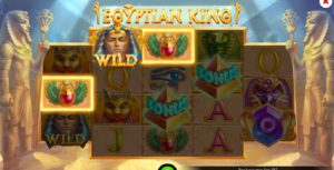 Egyptian King - the slot that is worth trying