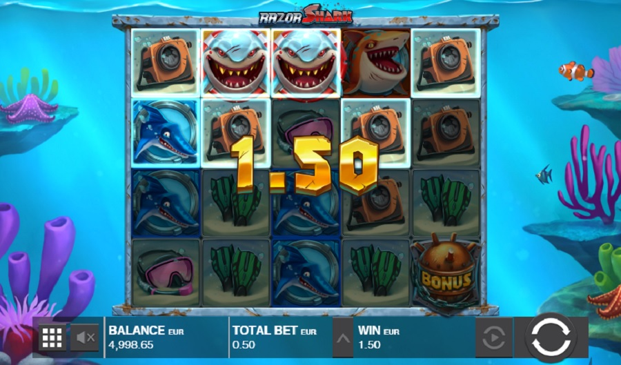 Hrací Automat Razor Shark