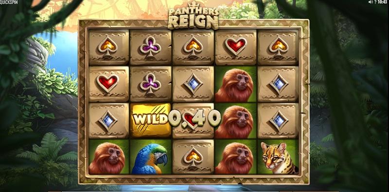 Pro milovníky divokých zvířat je tu hrací automat Panther 's Reign