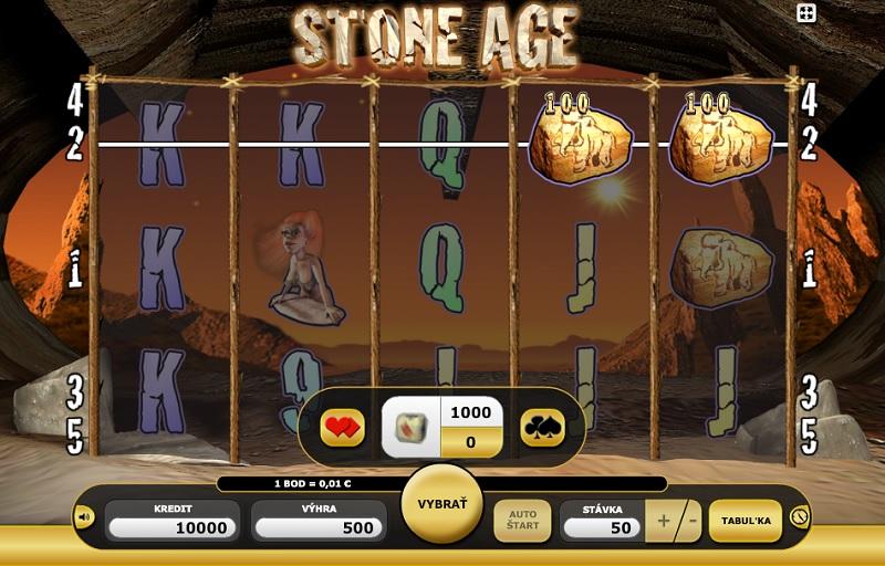 Zkuste život v době kamenné s výherním automatem Stone Age