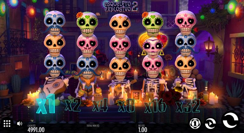 Esqueleto Explosivo 2 od Thunderkick