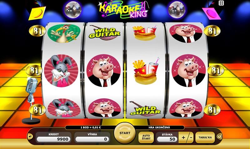 Skvělá zábava s hracím automatem Karaoke king