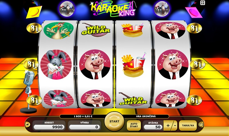 Skvelá zábava s hracím automatom Karaoke king