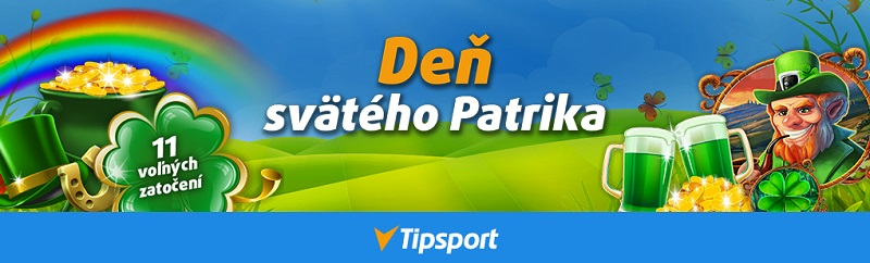 Deň svätého Patrika v Tipsport kasíne